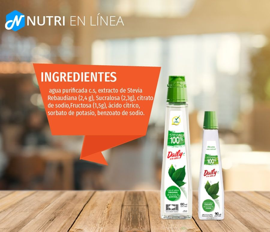 ingredientes estevia