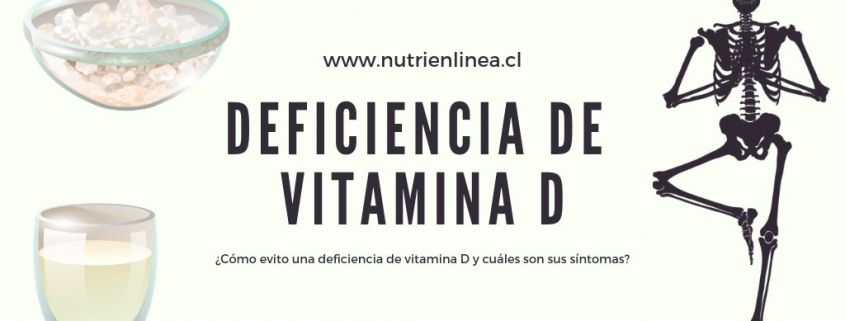 Deficiencia de vitamina D Portada